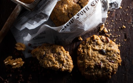Cookies à la farine d'avoine