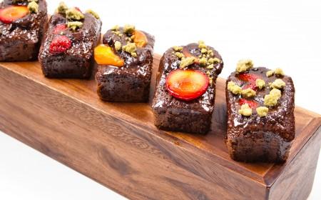 Cocoa bar cake