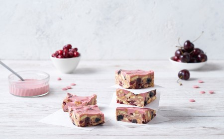 Ruby Chocolate Tiffin