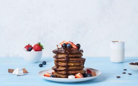 Breakfast Pancake Stack