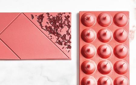 Tavoletta ruby con alchechengi