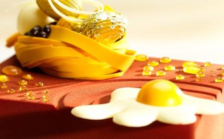 Delicia de Pascua de Maracuyá y Chocolate de Leche