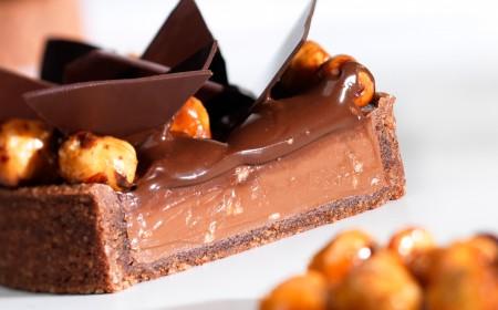 Tartelletta con crema al cioccolato