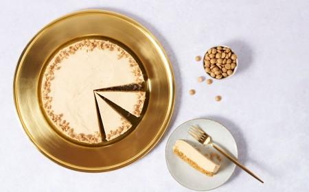 Gold chocolate cheesecake