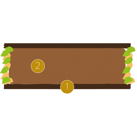 Cannellonis croustillants au chocolat