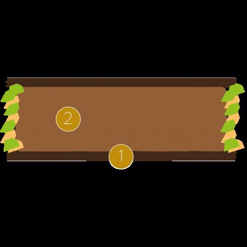 Crunchy chocolate canneloni