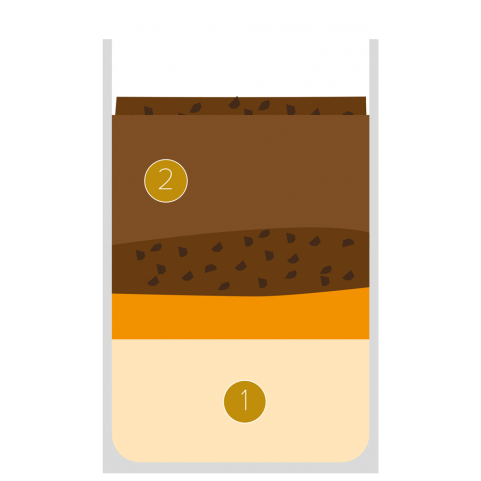 Crème orange-chocolat