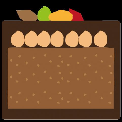 Rochers au chocolat Power