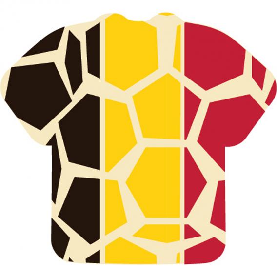 T-shirt Drapeau Belge