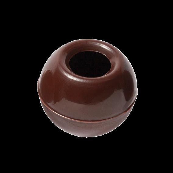 Dark Chocolate Truffle shells