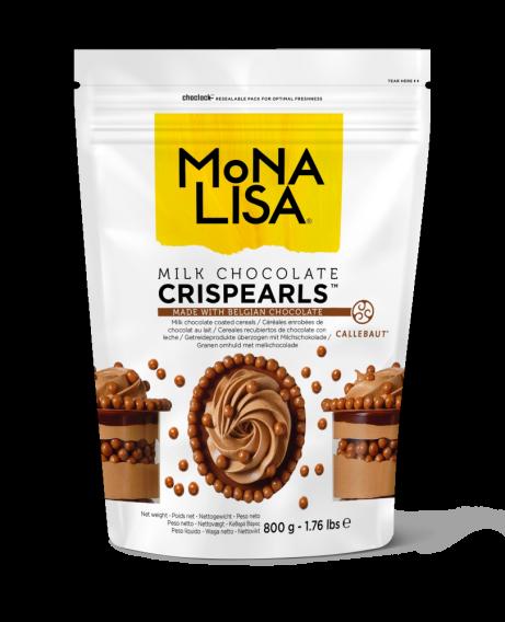 Crispearls™ - Melk Chocolade - 0,8kg