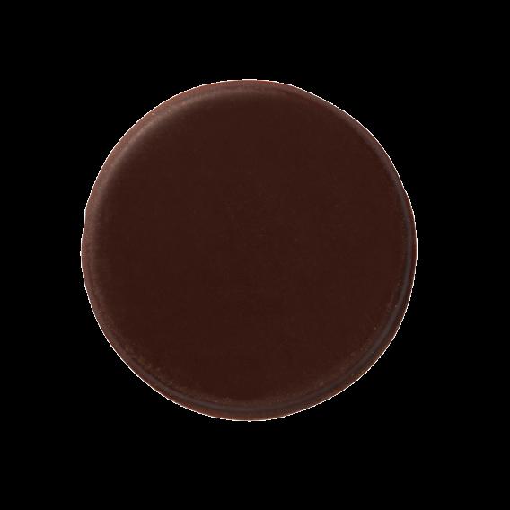Круги из темного шоколада