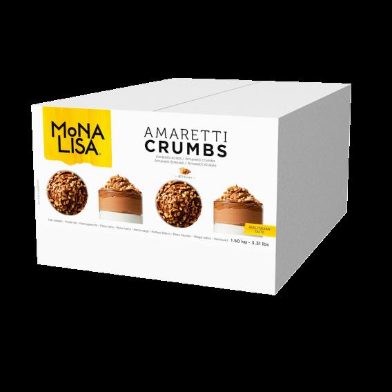 Amaretti crumbs