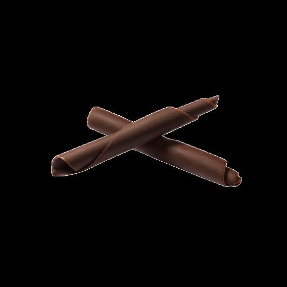 Небольшие палочки из темного шоколада