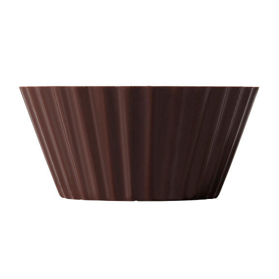 Dark Chocolate Victoria cups