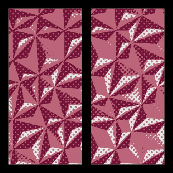 Trasferibili ruby hexagon