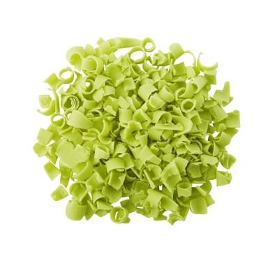 Natural Bright Green Décor Curls