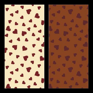 Transfer Sheets Flying Hearts