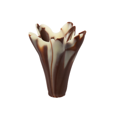 Marbled Chocolate Small Lilies