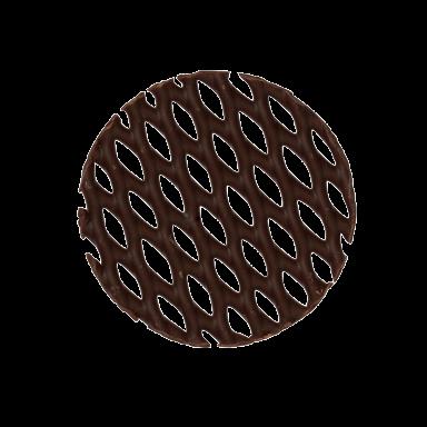 Dark Chocolate Mini Cake Tops