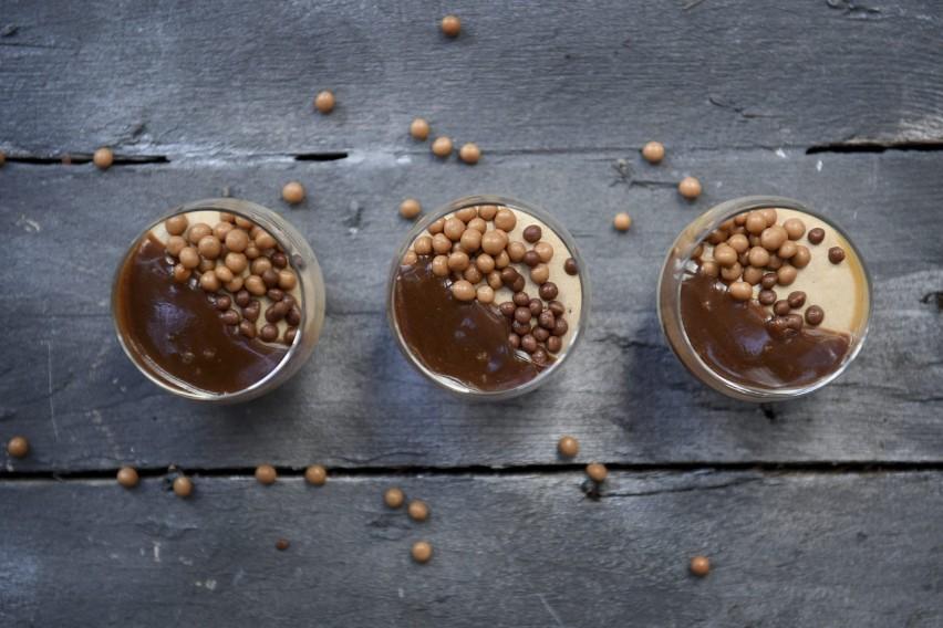 Salted caramel Crispy bites