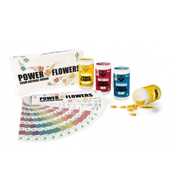 Power Flowers Discovery Box From Natural Origin - Food Colorants