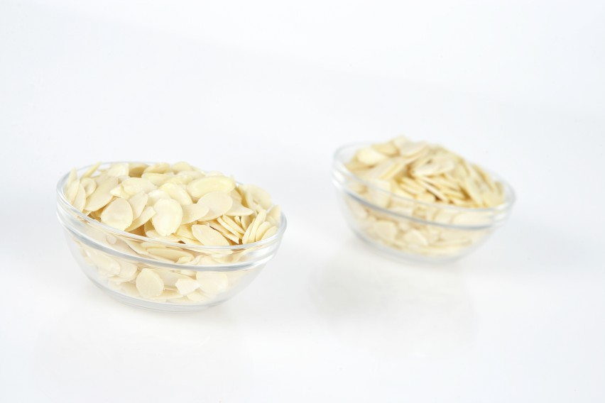 Almonds Sliced Blanched - 10# carton