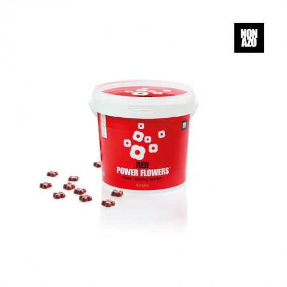 Power Flowers Non Azo Red