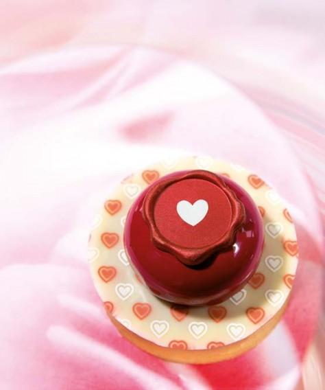Valentine Seal - Chocolate Decorations - Seal Shape - 70 pcs