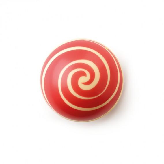 """Swirl Shell """"Red"""" White Chocolate"""