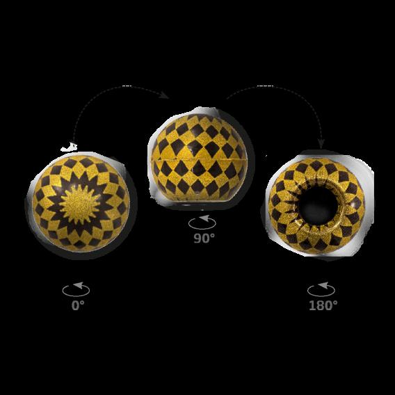 Truffle Shell Lozange - Chocolate Decorations - Truffle Shell - 63 pcs
