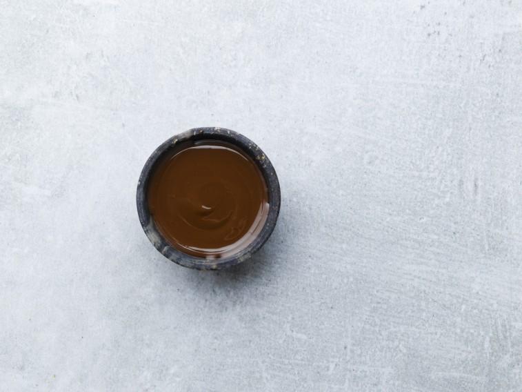 Crispy brown coating