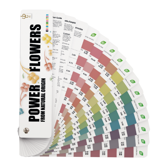 Power Flowers Color Master From Natural Origin - Food Colorants