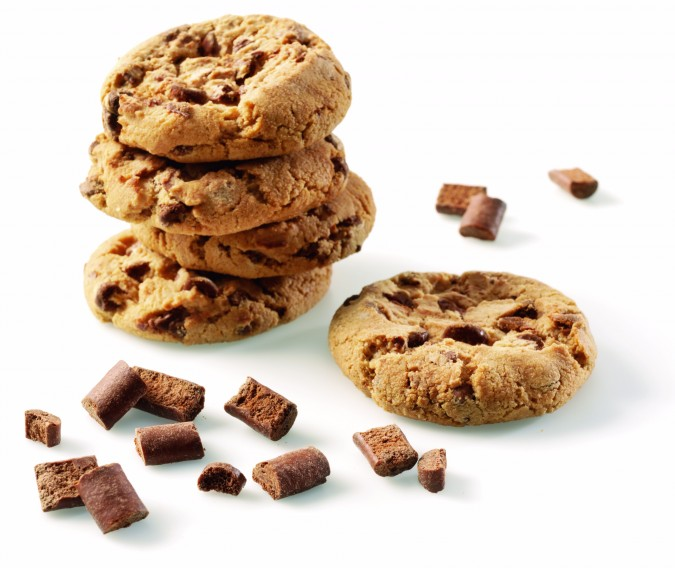 Milk chocolate chunks M sugar reduced