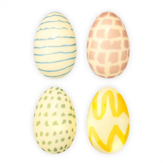 Pencil Eggs - Chocolate Decorations - Egg Shape - 45 pcs