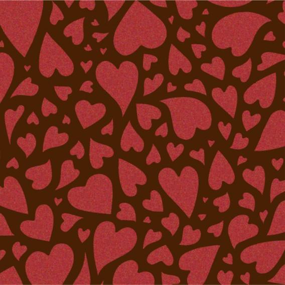 Hearts - Transfer Sheets - 30 pcs