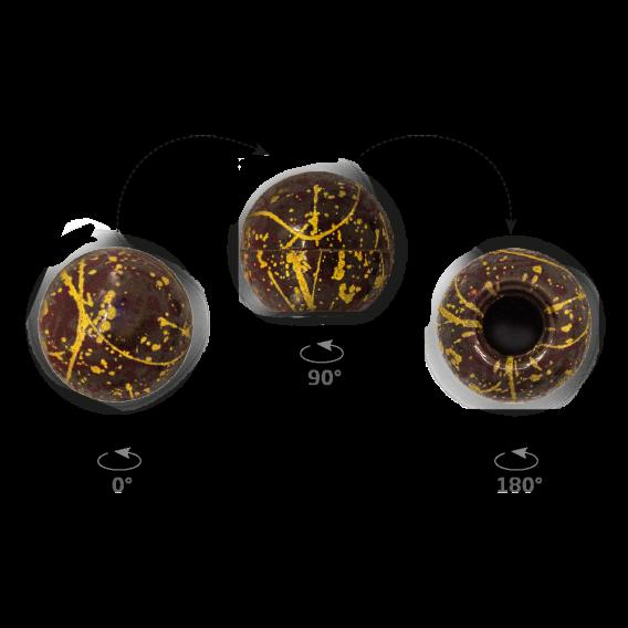 Truffle Shell Splashes - Chocolate Decorations - Truffle Shell - 63 pcs
