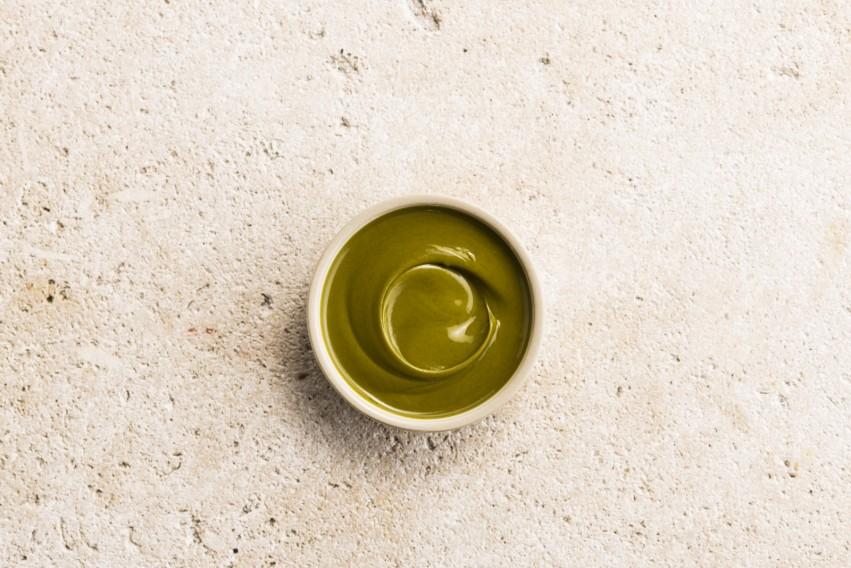 Organic pistachio praliné