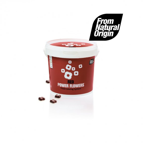 Power Flowers Beetroot - Food Colorant - 500gr - From Natural Origin