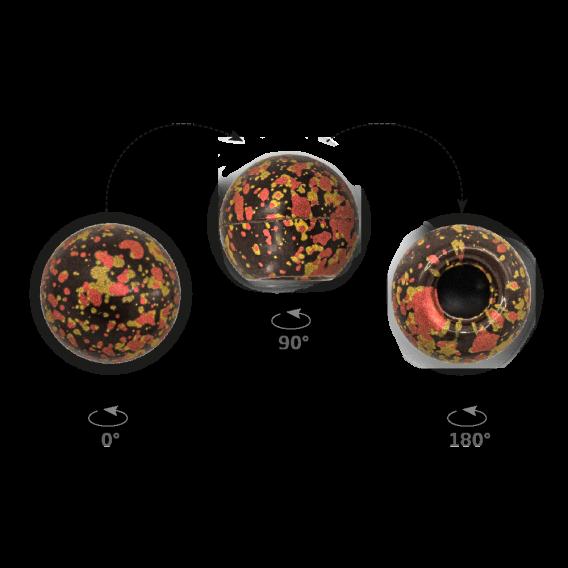Truffle Shell Splatters - Chocolate Decorations - Truffle Shell - 63 pcs