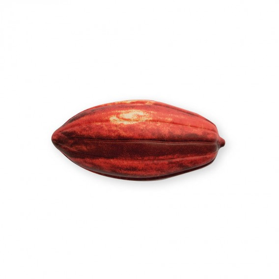 Natural Cocoa Pod Red - Chocolate Decorations - Cocoa Pod Shape - Cup - 24 pcs