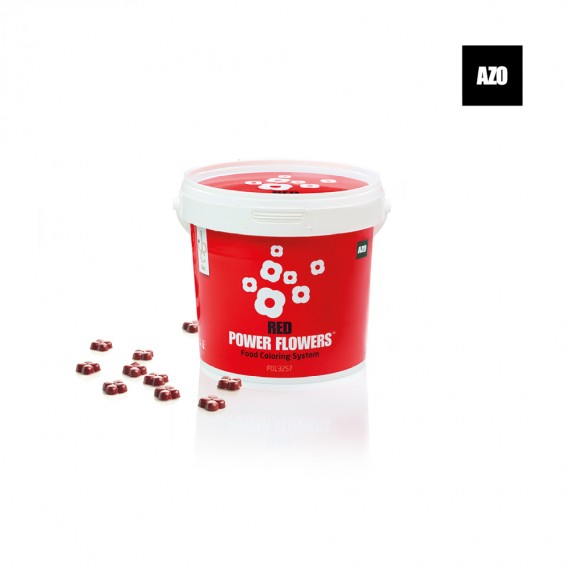 Power Flowers Classic Red Intense - Food Colorants - 500gr