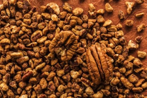 Chopped pecan sablage