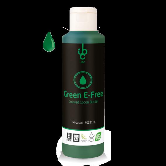 Colored Cocoa Butter Green E-Free - 245gr - From Natural Origin