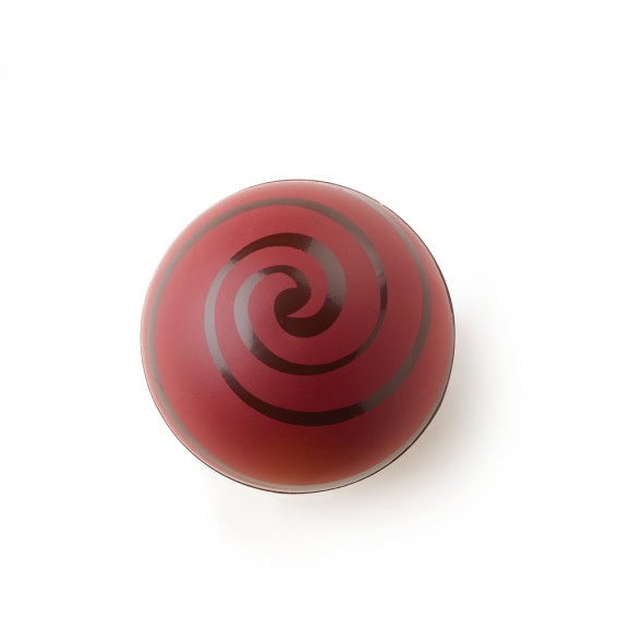 "Swirl Shell ""Red"" Dark Chocolate"