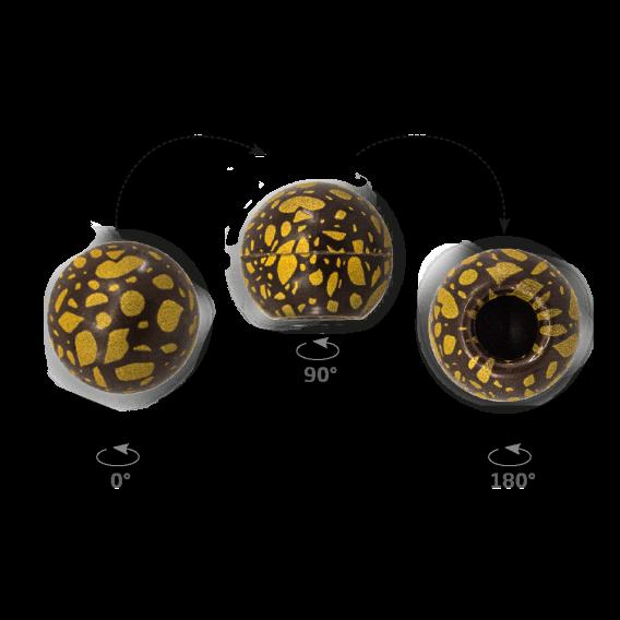 Truffle Shell Terrazzo - Chocolate Decorations - Truffle Shell - 63 pcs