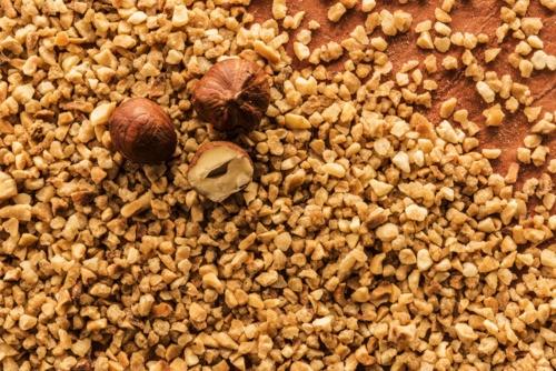 Organic hazelnut crocant 50/50
