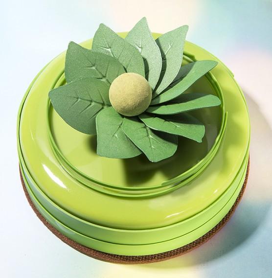 Artisanal Leaves - Chocolate Decorations - Leaf Shape - 144 pcs