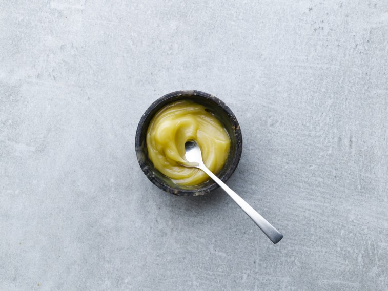 Curd Ripple With Lemon Taste