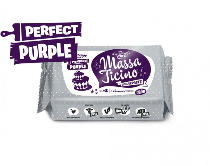 Massa Ticino Sugarpaste Perfect Purple